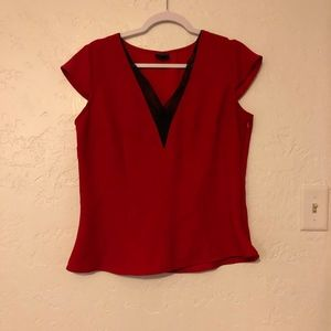 Worthington sleeveless blouse, size large